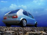 VW Golf 1 1983 Tuning Wallpaper